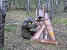Action paintball in Kiev