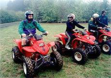 Quad biking near Kiev